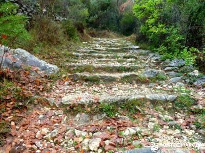 Montgó - Catedral Senderismo- Cova Tallada; nacimiento del rio jucar rutas valle de aran viajes tre